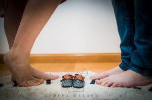Fotografia de embarazo © Pepa Malaga Fotografia