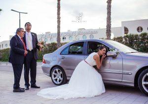 First look fotos de boda © Pepa Malaga Fotografia