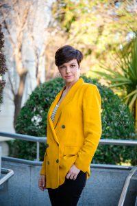Cristina Villanueva fotos corporativas © Pepa Malaga Fotografia