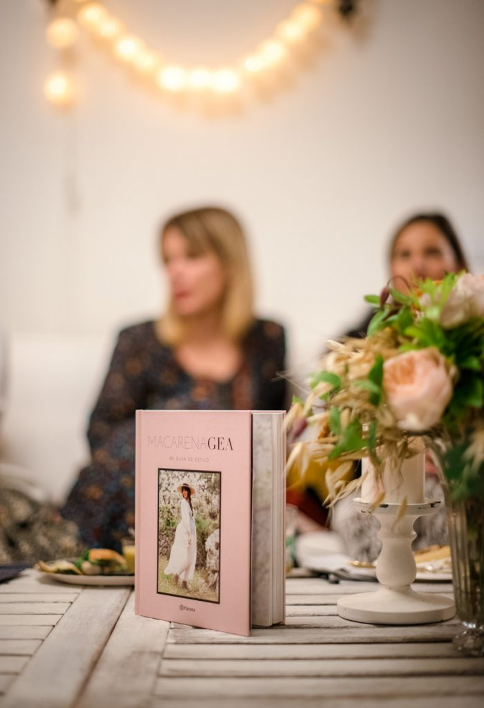 Macarena Gea en Cenas Adivina © Pepa Malaga Fotografia