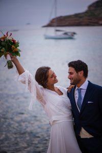 Boda en el mar. Claves reportaje de boda