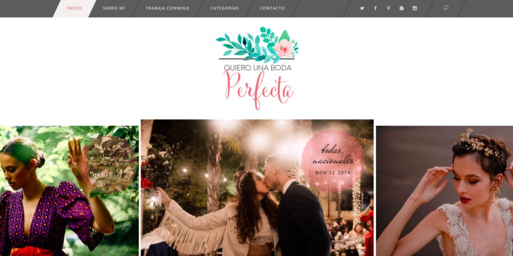 quiero una boda perfecta blog de bodas