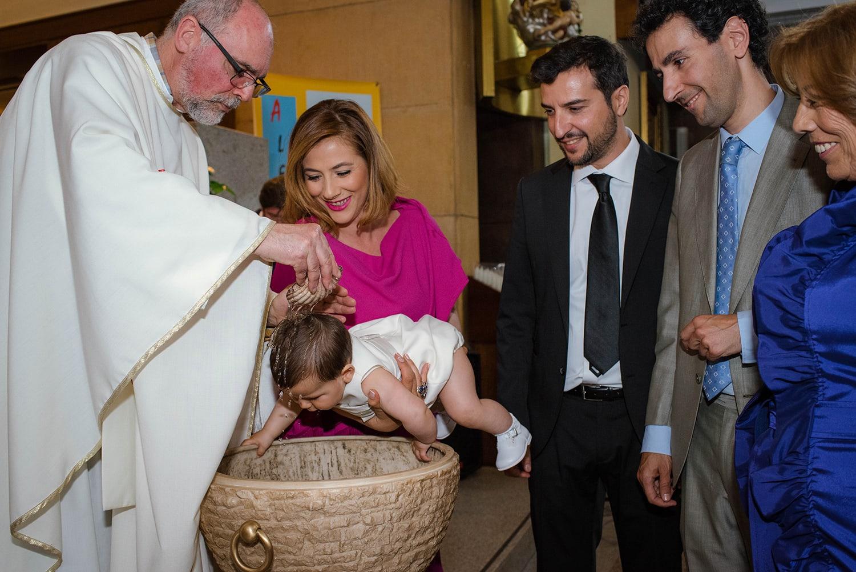 Reportaje de bautizo Madrid