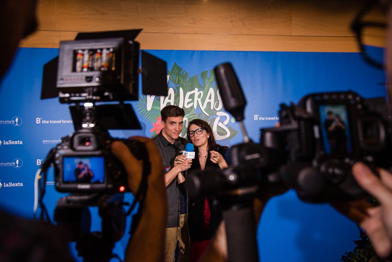 Silvia Abril Viajeras con B Pepa Malaga Fotografia