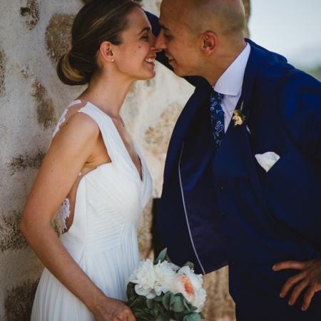 María y Mario: una boda íntima en la sierra de Guadarrama